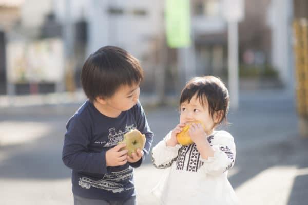 子供たちも手作りのもちもちベーグルが大好きです。