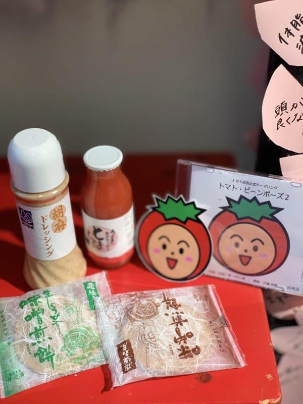 岐阜高山のトマト店長からのおみやげです。