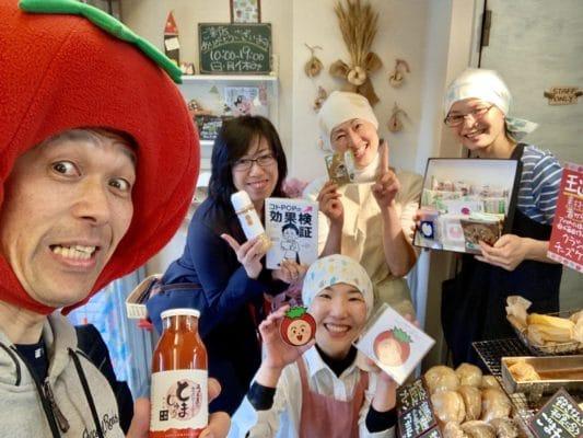 岐阜高山からトマト店長がやってきました!